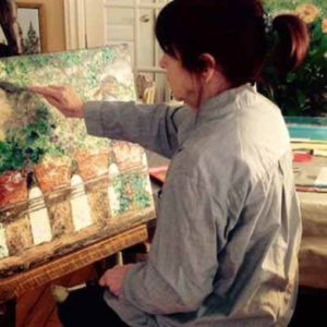Jany Fournier, Painter