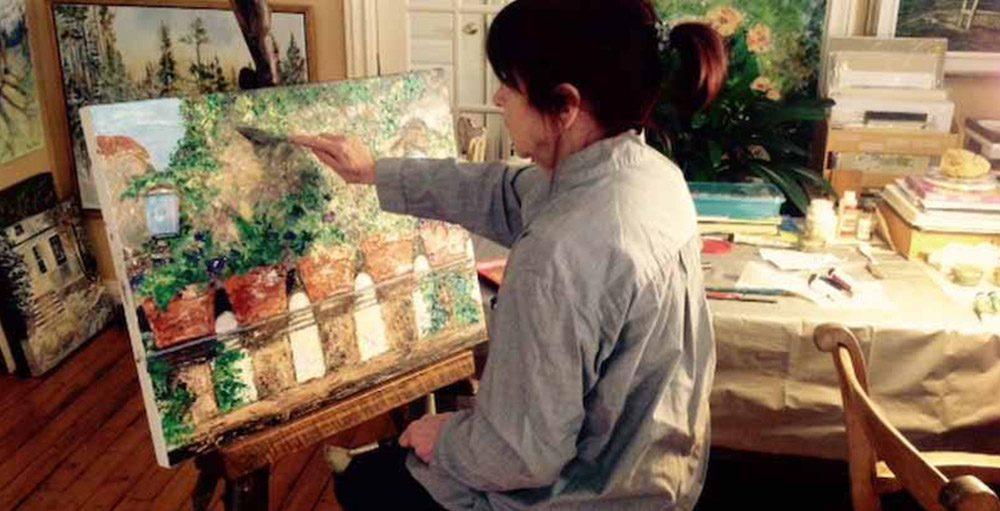 Jany Fournier, artiste-peintre