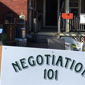 Négociation 101