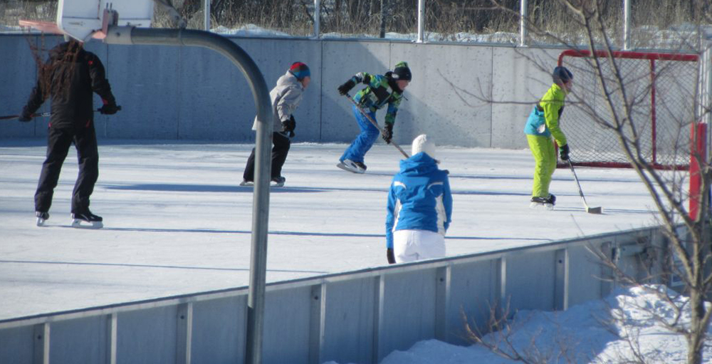 Municipal Parks in Winter