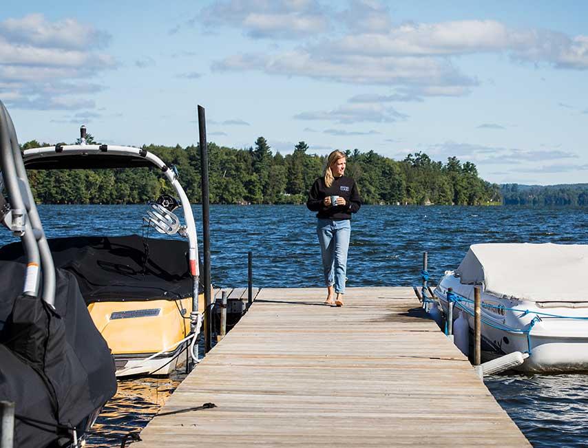 Cet été, venez vous rafraîchir au lac Brome