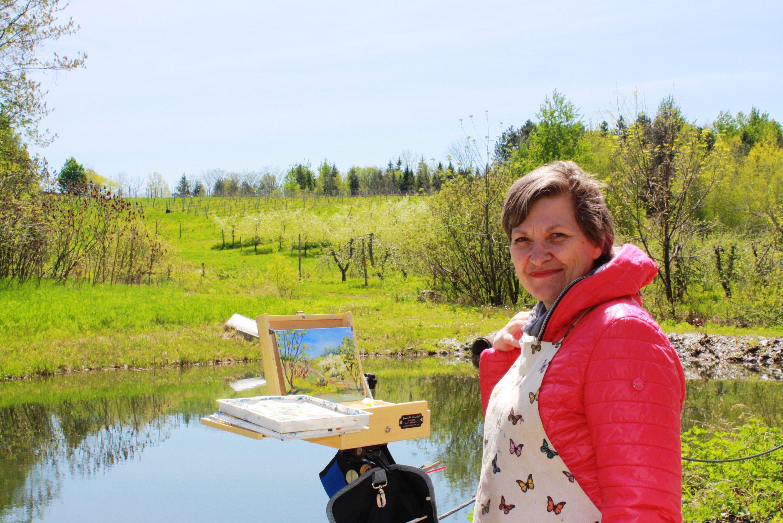 Isabelle Daval, artiste-peintre